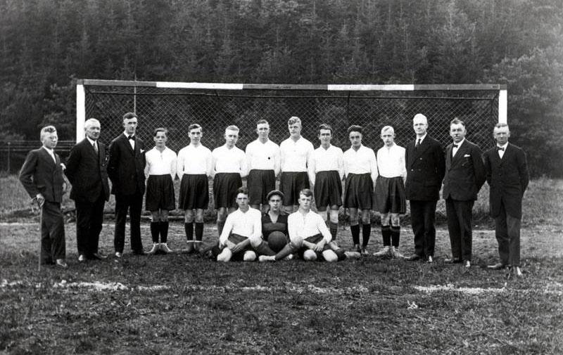 Mannschaft des SV Morsbach 1930