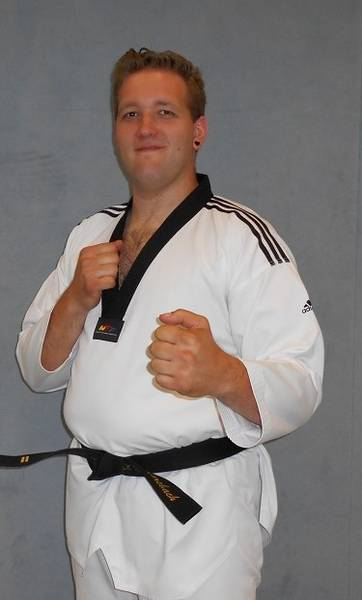Taekwondo Kinder Trainer Alexander Hombach