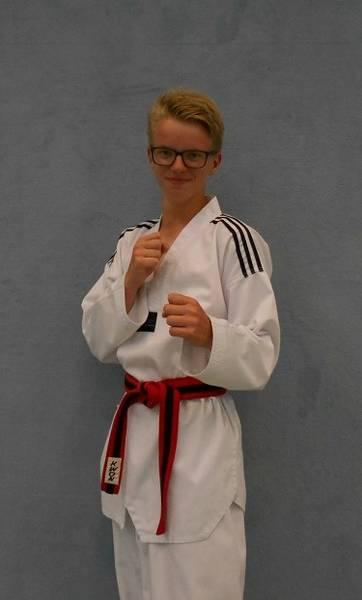 Taekwondo Kinder Trainer Luka Quast