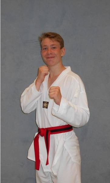 Taekwondo Kinder Trainer Phillip Lepperhoff